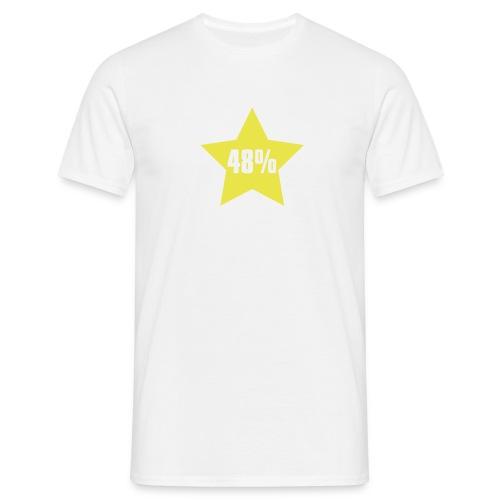 48% in Star - Men's T-Shirt