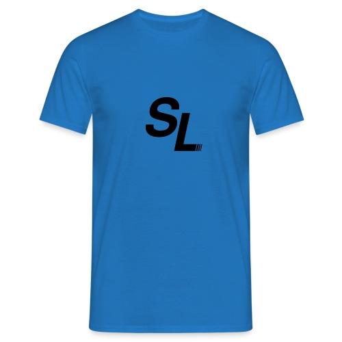 SL Logo Sort - T-skjorte for menn