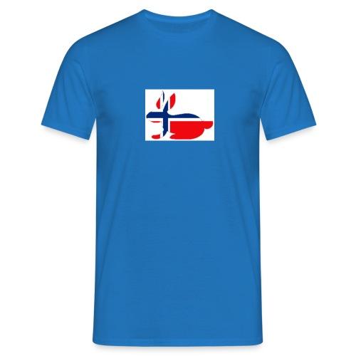 bunny_NY_LOGO_LI - Men's T-Shirt