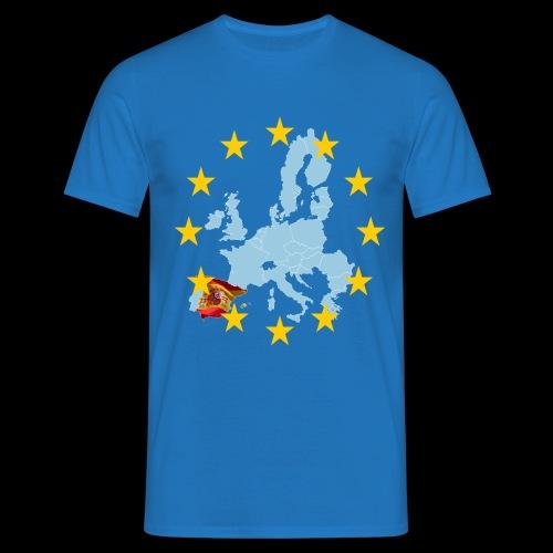 EU Spain (Europa Spanien) - Männer T-Shirt