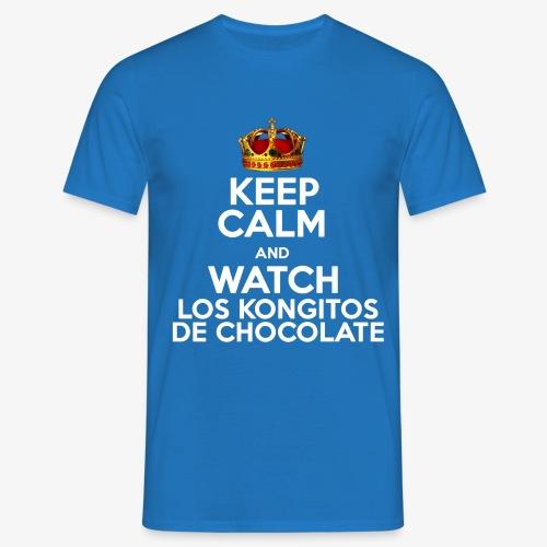 KEEP CALM AND WATCH LOS KONGITOS DE CHOCOLATE - Camiseta hombre