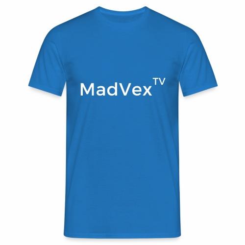 MadVexTV Schriftzug - Männer T-Shirt