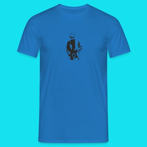 sticker le saxophoniste - Camiseta hombre