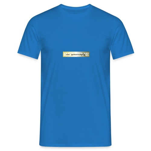 believe in yourself 3 - Männer T-Shirt
