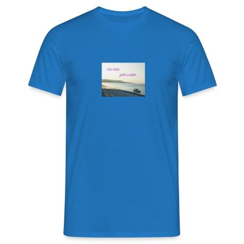 Die reise geht weiter - Männer T-Shirt