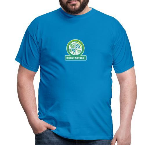 kickstart2go - Männer T-Shirt