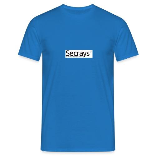 logo musta teksti - Miesten t-paita