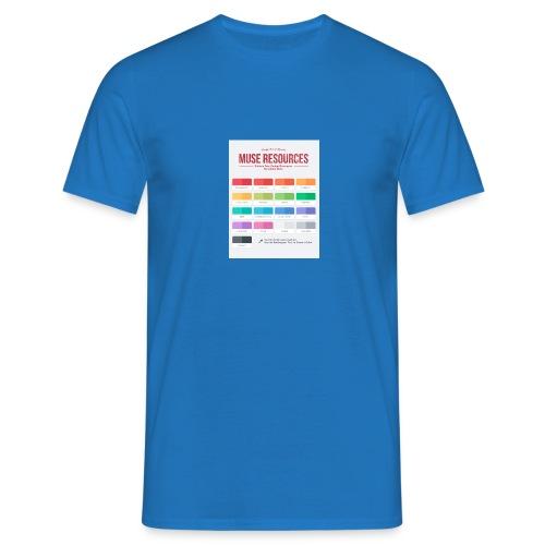 Flat Colors copia - Maglietta da uomo