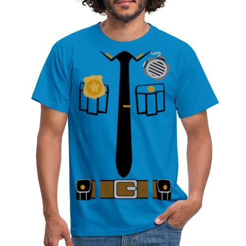 Police Patrol Costume - Men's T-Shirt