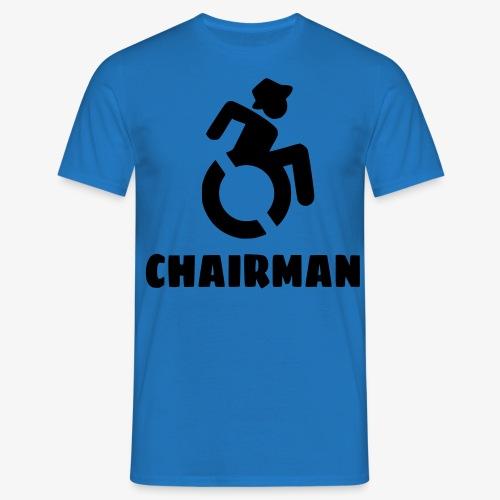 Rolstoel man 001 - Mannen T-shirt