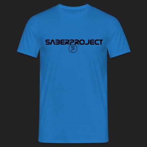 Saberproject Schriftzug - Männer T-Shirt