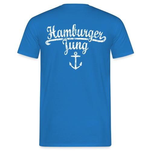 Hamburger Jung Klassik (Vintage Weiss) Hamburg - Männer T-Shirt