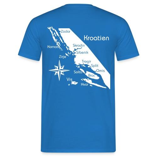 Kroatien Zadar bis Hvar - Männer T-Shirt