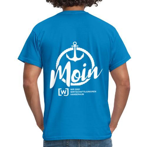 Moin Hanseraum weiß - Männer T-Shirt