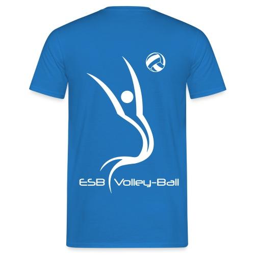 ESBVB_logo_blanc_2010 - T-shirt Homme