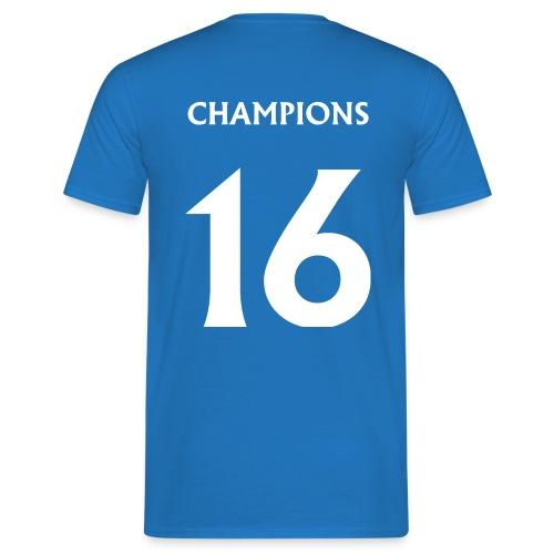 CHAMPS16WHITE png - Men's T-Shirt