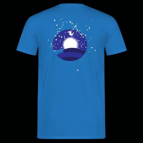 Der Mond hat n Vogel - Männer T-Shirt