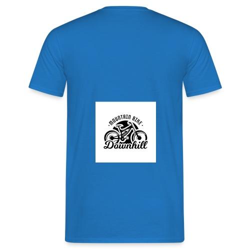 downhill ist leben - Männer T-Shirt
