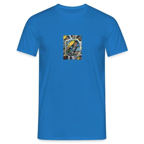 surf punk angry surf guy - Männer T-Shirt