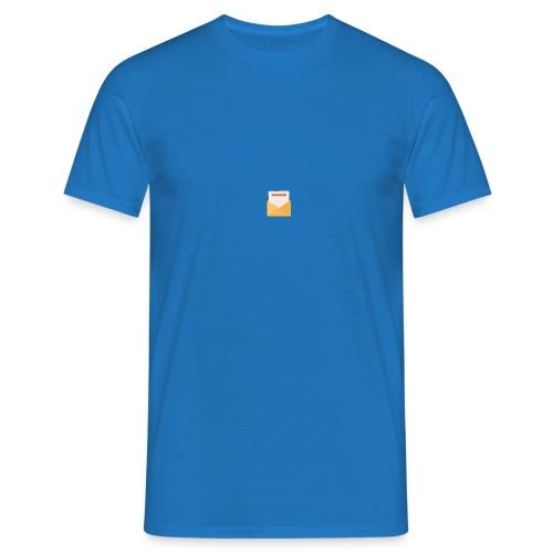 brev t-shirt - T-shirt herr