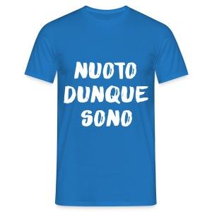 NUOTO DUNQUE SONO - Maglietta da uomo
