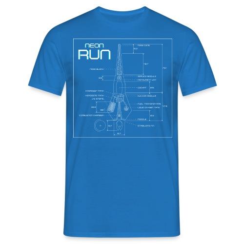 NeonRun - Mannen T-shirt