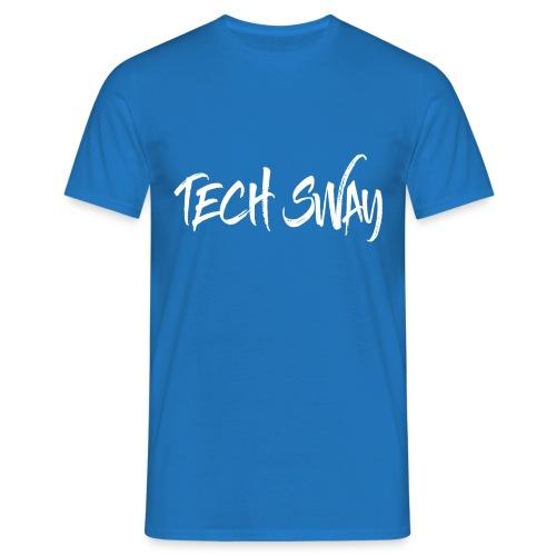 TechSwayWhiteLogo - Men's T-Shirt