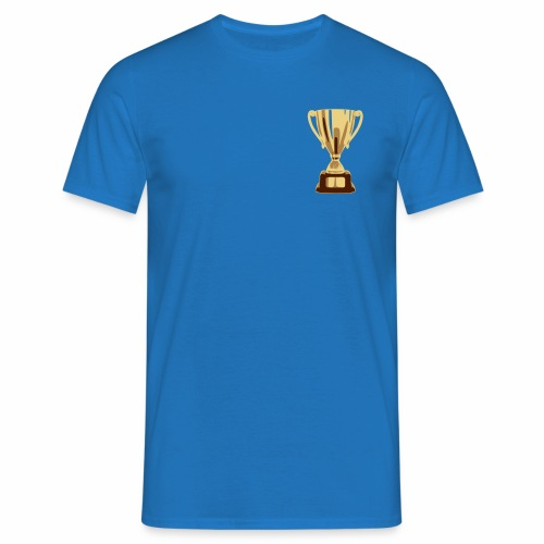 pokal vectorized - Männer T-Shirt