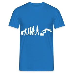 SWIMMER'S EVOLUTION - Maglietta da uomo