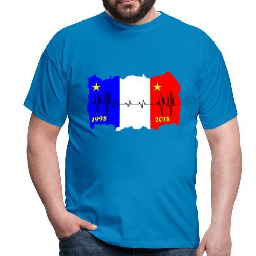 France 2018 coupe du monde les bleus - T-shirt Homme