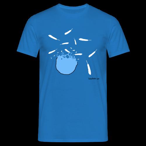 When Twitter Blows You up - Men's T-Shirt