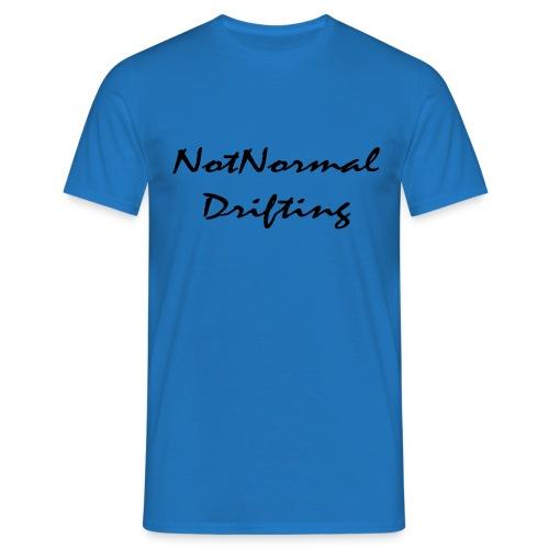 NotNormal Drifting 30x12 - T-skjorte for menn