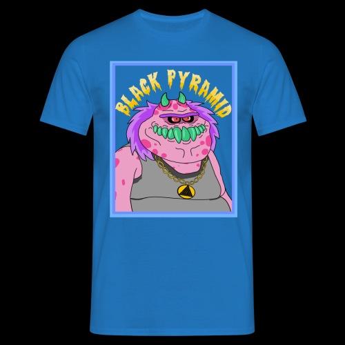 Pinkes Hip-Hop Monster - Männer T-Shirt