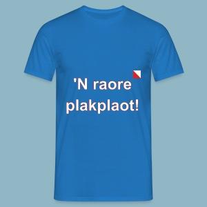 n raore plakplaot def w - Mannen T-shirt