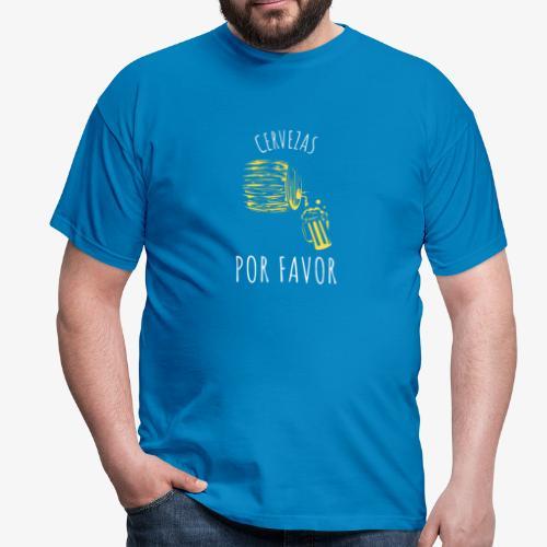Cervezas Por Favor - Camiseta hombre