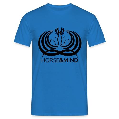 Logo Horse and Mind - Männer T-Shirt