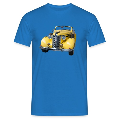 Gele klassieke auto1920 - Mannen T-shirt