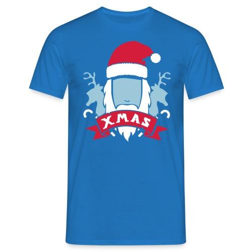 Weihnachtswappen - Männer T-Shirt