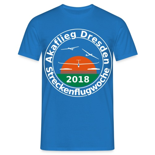 Streckenflugwoche Akaflieg Dresden 2018 - Männer T-Shirt