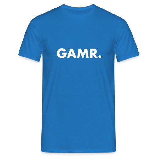 Casual Apparel Gamr white - Mannen T-shirt