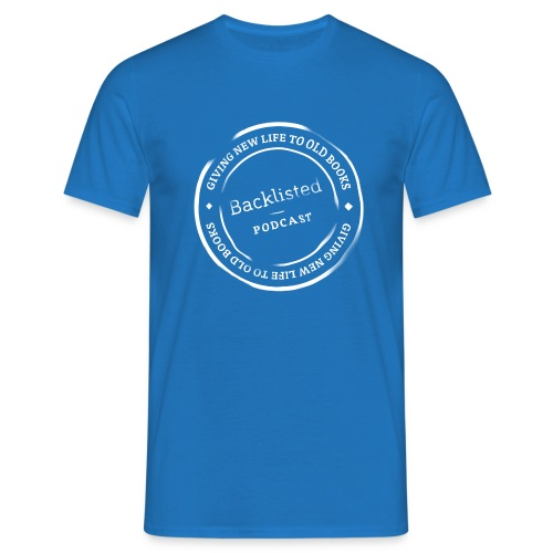 Backlisted T-shirt Mens Blue - Men's T-Shirt