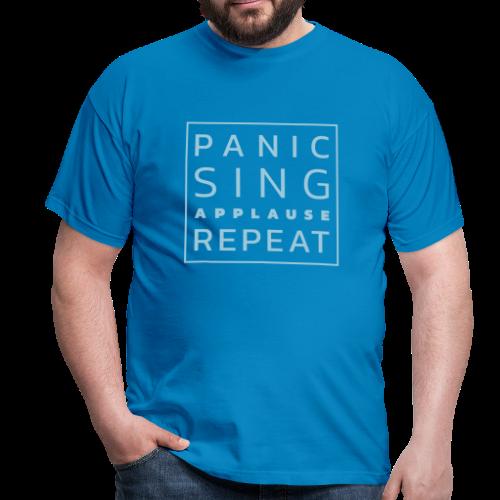 Panico - Canta - Applausi - Ripeti - Maglietta da uomo