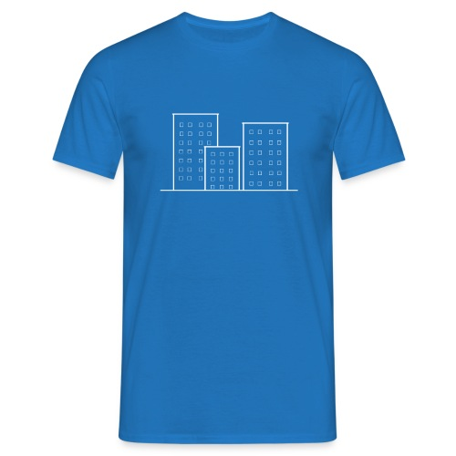Skyscrapers - Men's T-Shirt