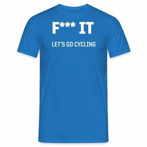 Let s go cycling - Männer T-Shirt