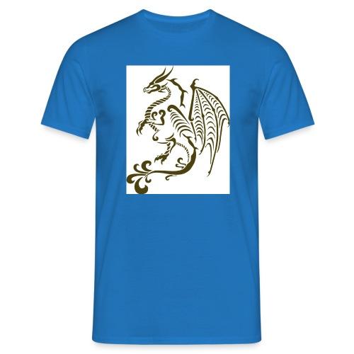 Drachen - Männer T-Shirt