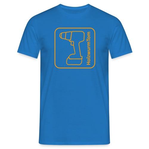 HolzwurmTom Logo - Männer T-Shirt