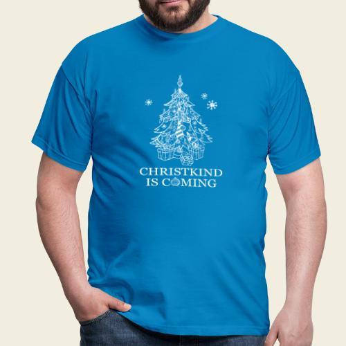 Christkind neu weiss - Männer T-Shirt
