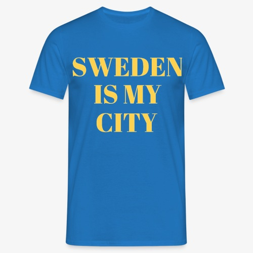 Sverige är min stad - T-shirt herr