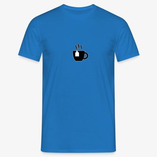 small tea logo - Men's T-Shirt