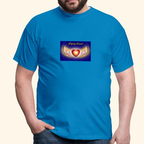 Flying Heart - Männer T-Shirt